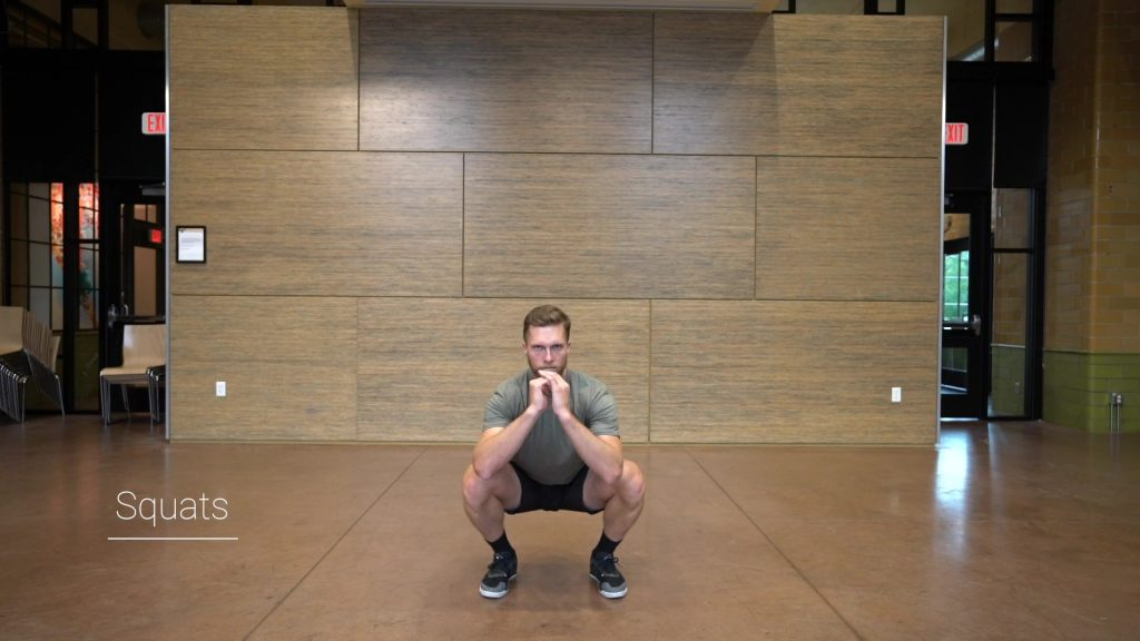 squats and lunges